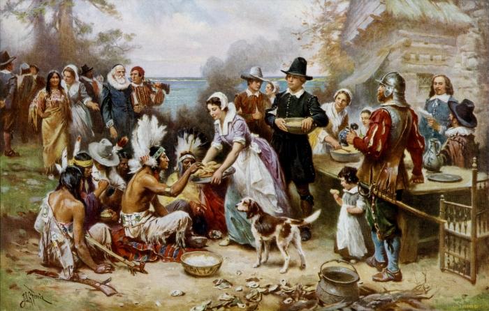 historia do Dia de Ação de Graças (thanksgiving)
