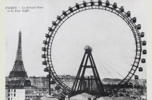 roda gigante da Place de la Concorde