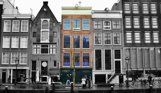 museus em Amsterdam casa anne frank