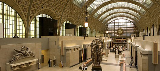 Interior do museu de Orsay