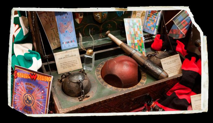 Exposição Harry Potter em Paris quadribol