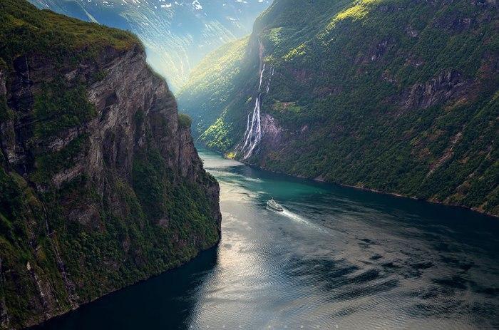 viajar para a Noruega fiordes