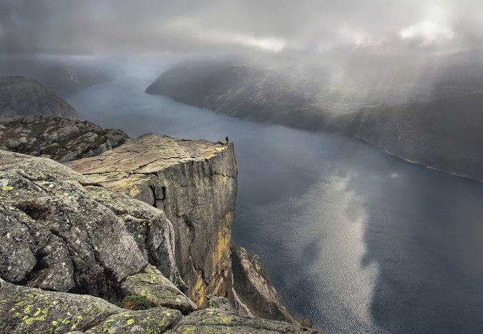 viajar para a Noruega Preikestolen