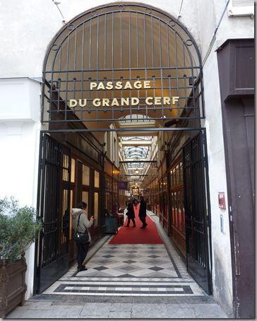 passagens cobertas de Paris