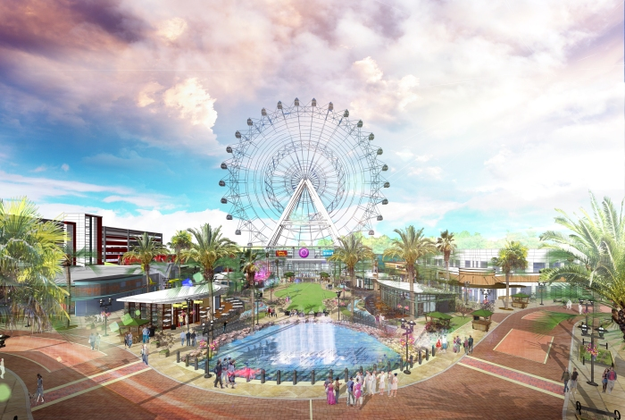 Orlando the orlando eye roda gigante