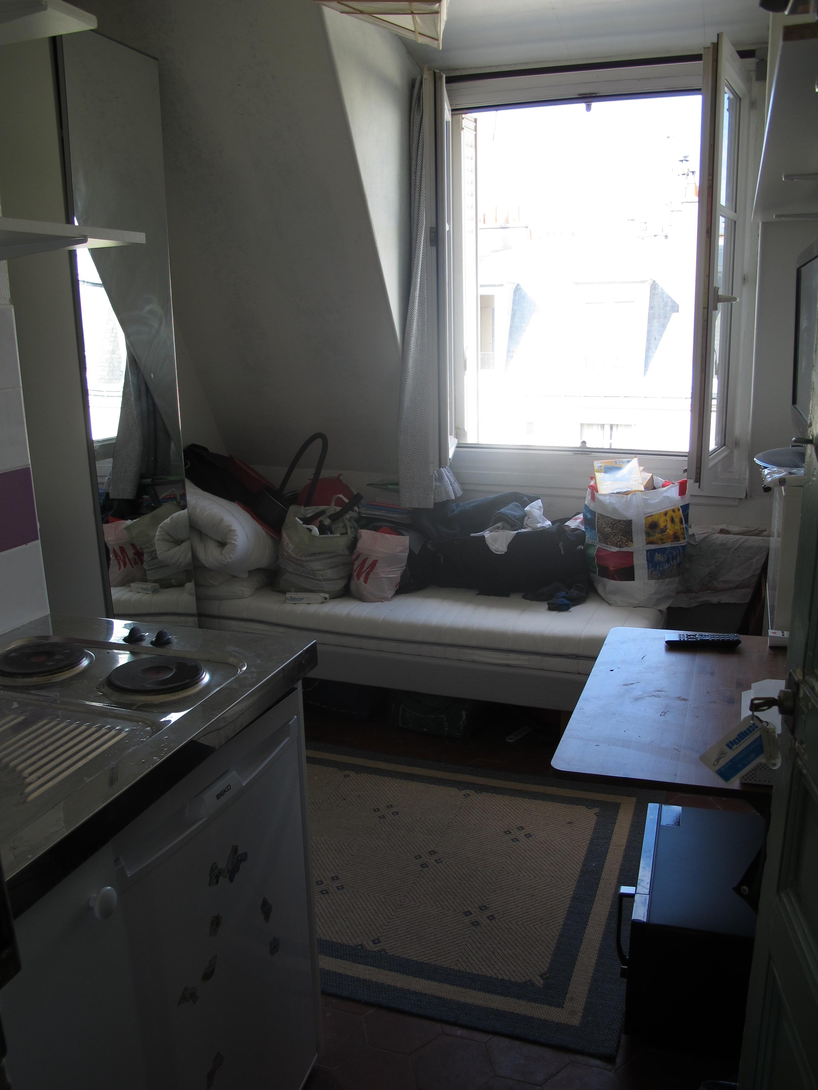 o s£o os chambres de bonne alugados por estudantes em Paris